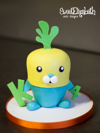 Octonauts Turnip Smash Cake