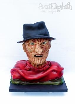 Sculpted Freddy Krueger