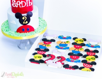 Mickey Mouse Clubhouse Cake & Cookies