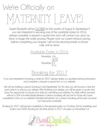 MaternityLeave